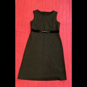Jones Wear gray knit dress